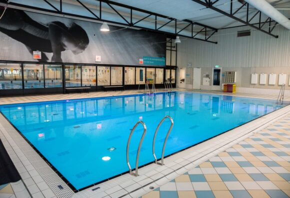 Beweegbare zwembadbodem voor openbaar zwembad