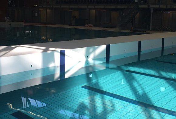 Zwembad Sloterparkbad, Amsterdam, Nederland